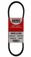 BANDO 6PK1195 Serpentine Belt-Rib Ace Precision Engineered V-Ribbed Belt