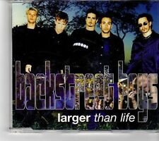 (FK933) Backstreet Boys, Larger Than Life - 1999 CD