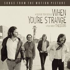 When You're Strange Soundtrack CD NEW 2010 The Doors Riders On The Storm/The End
