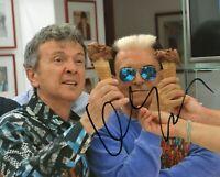 Foto Autografo Cristiano Malgioglio Signed Gelato al cioccolato Pupo Music