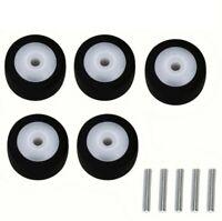 5PCS 13x6.3x2mm  Press Pinch Roller with Metal Axle for Akai Sony TC-K81 TC-511S