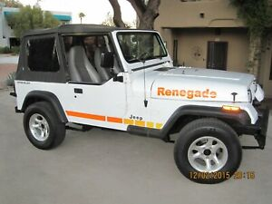 decal set for Jeep Renegade CJ5 CJ7 Decals & Stripes Kit Wrangler CJ YJ TJ JK JL