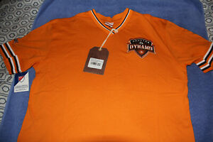 Houston Dynamo Shirt Mitchell & Ness Overtime Win Vintage Jersey MLS Mens Large