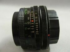 Vivitar 28m f1:2.8 Wide Angle Lens for Canon FD Excellent - NR!