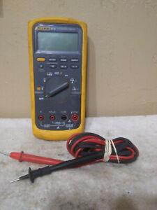Fluke 87V True RMS Multimeter With Leads