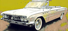 BUICK Electra Invicta Le Sabre 2D Cabrio 1961–62 Windschutzscheibe Voorruit KLAR
