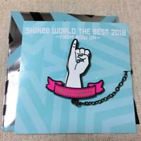 SHINee WORLD THE BEST 2018 FROM NOW ON Ltd Official pin badge Will be together
