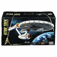 Mega Bloks Star Trek U.S.S. Enterprise Ncc-1701 3098 Pieces Collectors Set New