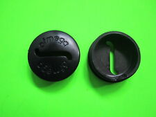VINTAGE BIKE BICYCLE OFMEGA CRANK CRANKSET PLASTIC DUST CAPS NOS ROAD BIKE