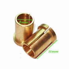5pcs brass vice tattoo machine gun parts custom fixed tubes supply