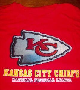 KANSAS CITY CHIEFS NFL FOOTBALL T-Shirt LARGE NEW