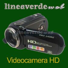 Videocamera Digitale HD1080x720 - Fotocamera 12 MP Display LCD 2.7 8X Zoom