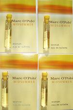Marc O'Polo Midsummer Woman 4 x 1,8 ml EAU DE TOILETTE campione FIALE NUOVO