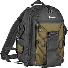 NEW Canon Deluxe Photo Backpack 200EG for EOS SLR Camera Bag Case Nylon Green