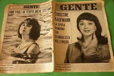 Gens 30/1963 Tomas Milian + Christine Kaufmann Tony Curtis + Gino Paoli S.S