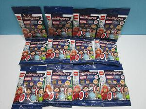 Lego ® MinifigurenSerie Marvel Studios Avengers  71031 Komplett alle 12 Figuren
