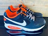 Nike Air Max Coliseum Racer Men's Shoes Black/Total Orange 555423-018 US Size 10