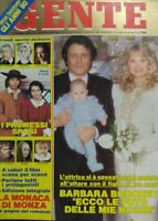 GENTE N.48 1989 BARBARA BOUCHET