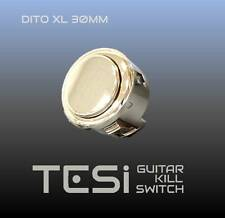 Tesi DITO XL Snap-in 30MM Guitar Arcade Button Kill Switch Gold