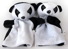 2 x CHILD'S PLAYFUL PANDA HAND PUPPETS  *** Brand New ***