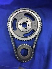 SBC V8 CHEVY GM HD DOUBLE ROLLER TIMING CHAIN SET 5.7L 283 305 327 350 383 400