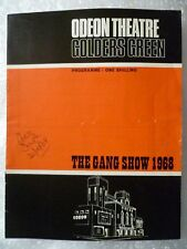 Odeon Theatre Programme The GANG SHOW 1968- Ralph Reader, R E Probst