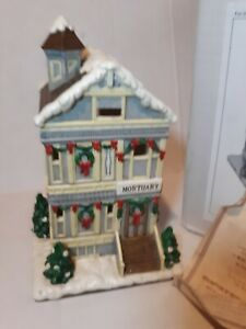 Christmas Colonial Village by Lefton Mortuary 2003 #17879