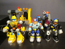 Vintage Fisher Price Rescue Heroes 2001-2003 Lot Action Figures & Vehicles