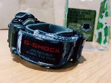 Vintage G-Shock Kenya Ranger Wildlife Army Camouflage Cloth Band Japan Limited