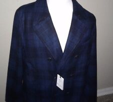 $698 Robert Graham  double- breasted wool jacket XL