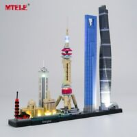 LED Light Up Kit For LEGO Architecture Shanghai 21039 Lighting Set building kit