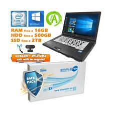 "COMPUTER NOTEBOOK PORTATILE FUJITSU A561 I3 2310M 15,6"" HDMI DAD WINDOWS 10 PRO-"
