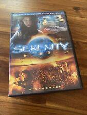 New listing Serenity (Dvd, 2005, Anamorphic Widescreen) Joss Whedon Firefly Movie