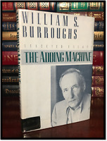 The Adding Machine ✎SIGNED by WILLIAM BURROUGHS Hardback 1st Edition First Print