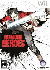 No More Heroes - Nintendo  Wii Game
