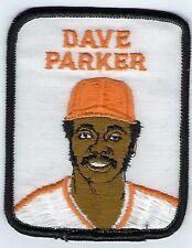 DAVE PARKER 1979 Vintage Penn Emblem Baseball Patch Pirates-Reds-Athletics