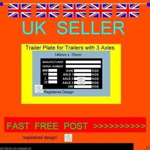 TRI 3 AXLE TRAILER PLANT RECOVERY TRANSPORTER ALL-BLANK-VIN-CHASSIS-PLATES RAMPS