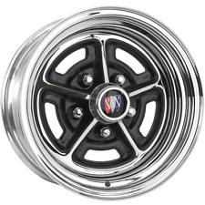 "BR157 15x7 Buick Rallye | 5x4 3/4"" bolt | 4.00"" backspace | Chrome finish"