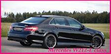 MERCEDES W212 E-Class Saloon Posteriore/tetto Spoiler-Finestra (2010-2015)