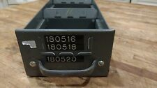 Set of 6  Industrial Equipto Metal Drawers 8540