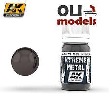 Xtreme Metal BLACK BASE 30ml Bottle - AK Interactive 471