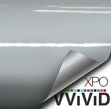 Vvivid Xpo Gloss Nardo Elephant Grey Vinyl Car Wrap Decal