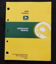 Genuine John Deere 6605 Tractor Operators Manual Mint Shape Mannheim Germany