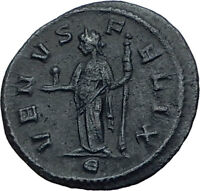 SEVERINA wife of AURELIAN 275AD Rome DENARIUS Ancient Roman Coin w VENUS i65560