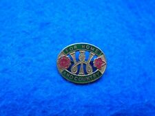 WWII HOME FRONT WOMENS INSTITUTE FOR HOME & COUNTRY ENAMEL LAPEL BADGE, LEWIS