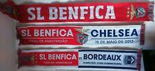BENFICA - CHELSEA Final Europa League 2013 BENFICA - BORDEAUX 2013 Echarpes Foot