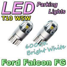 White T10 Wedge LED Parker Bulbs to suit BF FG Ford Falcon XR6 XR8 G6E FPV F6 GT