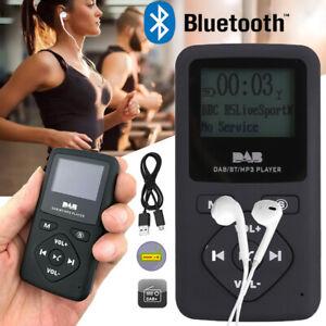 Tragbare Mini DAB/ DAB+ Radio Bluetooth MP3 Player Digital FM Radio Pocket Radio
