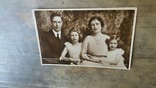 The Royal Family. King George VI, Queen Elizabeth and Children Postcard