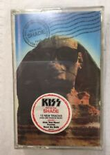 Sealed KISS Hot In The Shade USA Cassette Tape w/ Hype Sticker Simmons Carr 1989